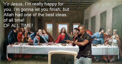 La Cène de Kanye West