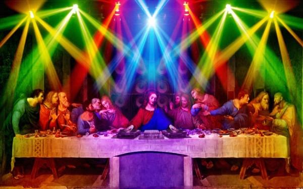 La Cène avec D-Jésus, le DJ