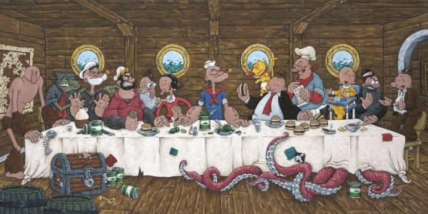 La Cène et Popeye le marin