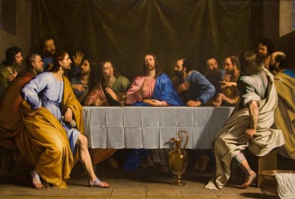 La Cène peinte par Philippe de Champaigne