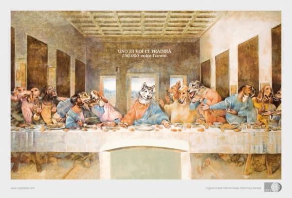 La Cène des chiens de l'OIPA