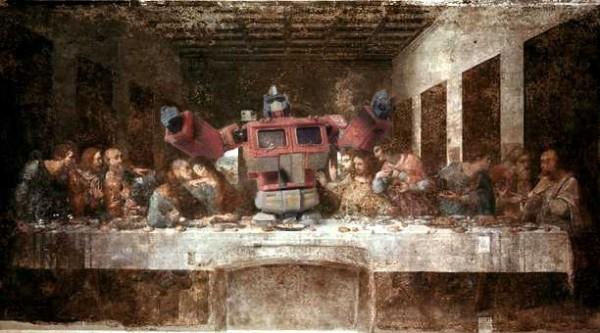 La Cène version Transformers