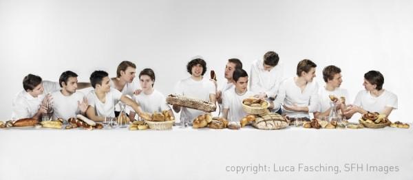 La Cène des Boulangers par Luca Leon Fasching