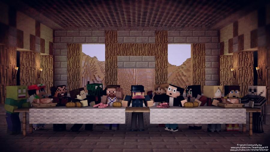 La Cene Version Minecraft La Cene