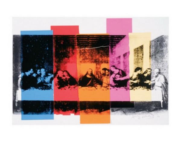 La Cène par Andy Warhol