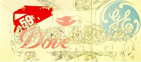 La Cène Dove - Andy Warhol