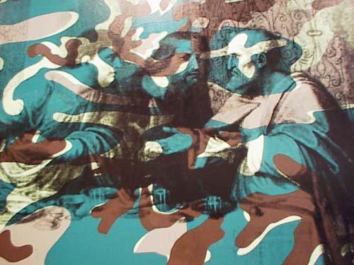 La Cène Camouflage - Andy Warhol