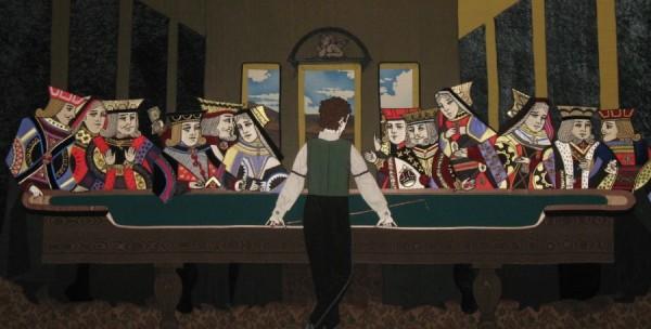 La Cène des figures des jeux de cartes