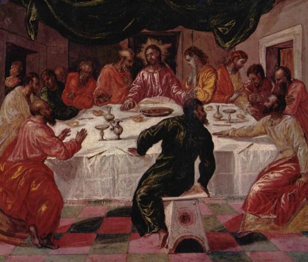 La Cène vue par le peintre El Greco