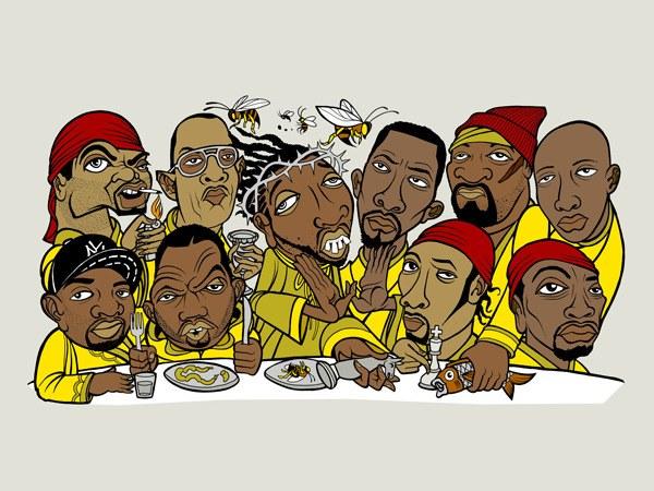 La Cène avec le Wu-Tang clan