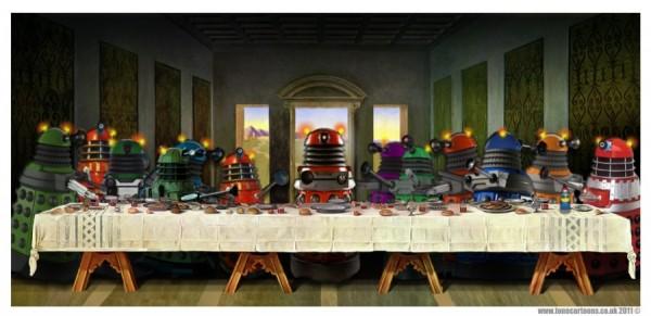 La Cène version Dalek