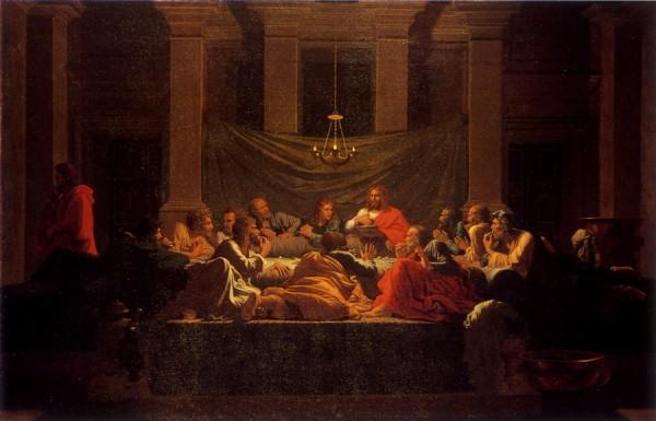 La Cène de Nicolas Poussin - Seconde série