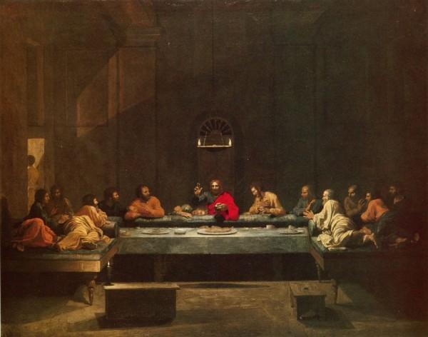 La Cène de Nicolas Poussin - Première série
