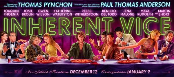 Le casting du film Inherent Vice rejoue La Cène