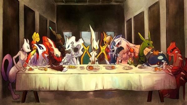 La Cène vue par les Pokémon